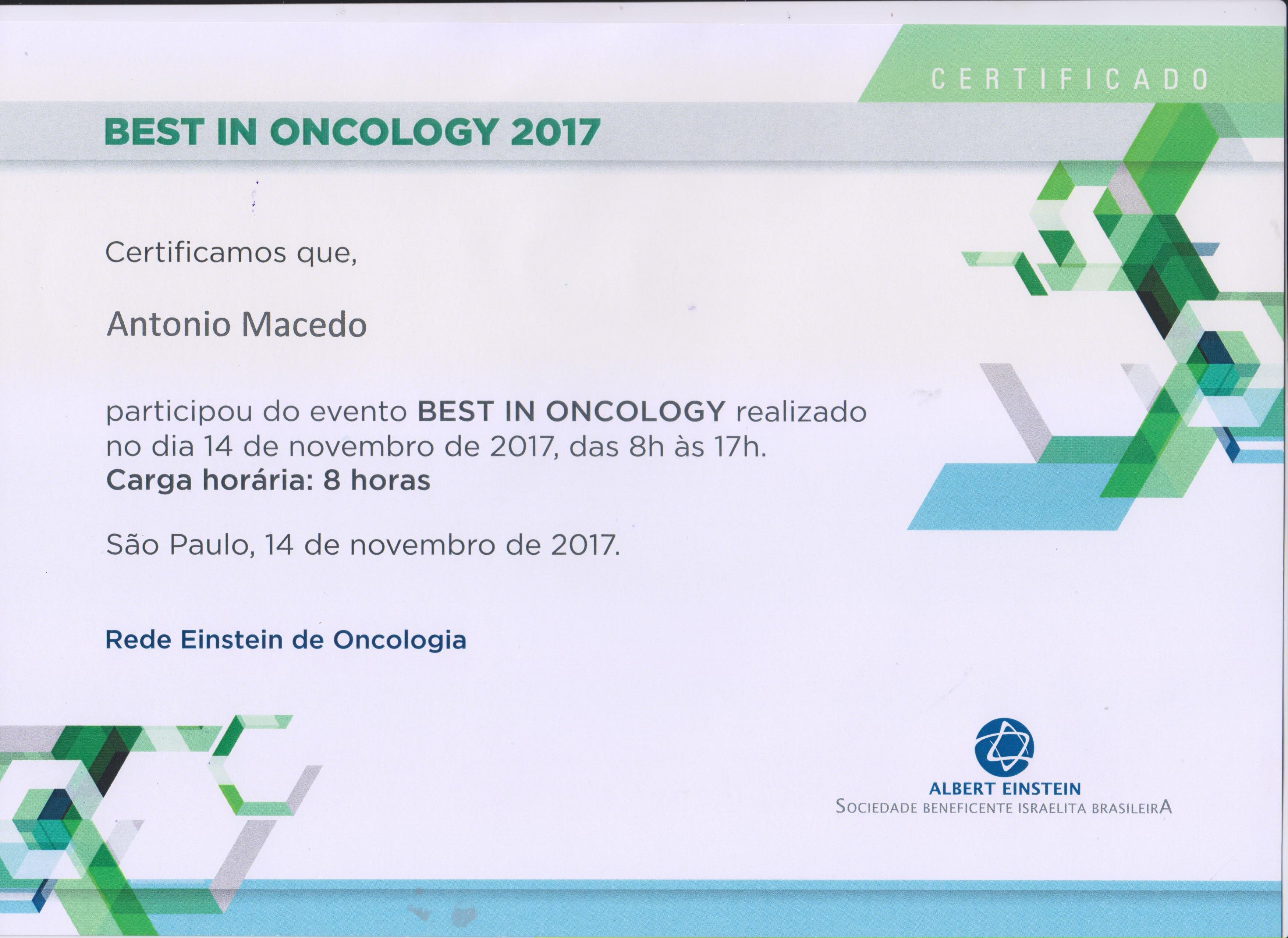 diploma Dr. macedo